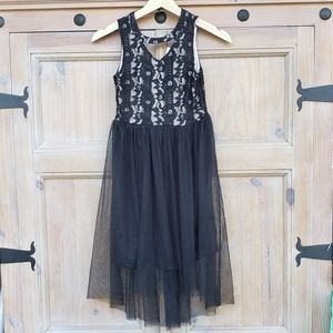 Other - Girls black Lace and Tulle dress 10